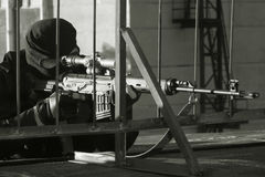 Scharfschütze lizenzfreies stockbild