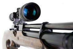 Scharfschütze-Gewehr und Bereich Stockbild