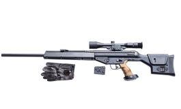 Scharfschützegewehr Stockfoto