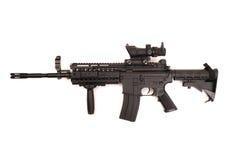 Scharfschützegewehrteleskop Stockfoto