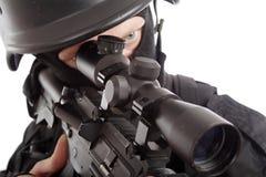 Scharfschütze Lizenzfreies Stockfoto