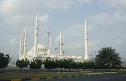 Scharjah-Moschee Stockfoto