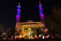 Scharjah-Moscheen-Festival Stockfotografie