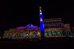 Scharjah-Moscheen-Festival Stockbilder
