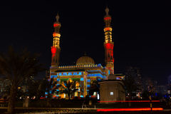 Scharjah-Moscheen-Festival Stockfotos