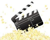 Scharnierventile u. Popcorn Stockfoto