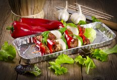 Schaschlik Royalty Free Stock Photo