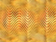 Schat in het zand wordt verborgen dat Stock Afbeelding