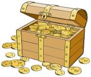 Schatborst Royalty-vrije Stock Afbeelding