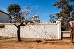 Schatten auf dem Kloster Lizenzfreies Stockfoto