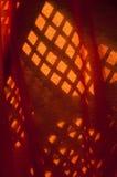 Schatten auf Gewebe Stockbild
