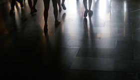 Schatten aus den Grund Lizenzfreie Stockbilder