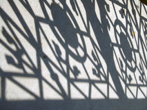 Schatten aus den Grund Stockbild