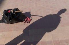 Schatten der Arbeitskraft Lizenzfreie Stockfotos