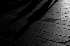 Schatten in der Stadt Lizenzfreie Stockfotografie