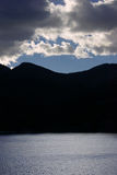 Schatten des Berges Lizenzfreie Stockfotografie
