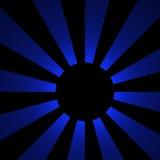 Schatten des blauen Mondes | Fractal-Kunst Lizenzfreies Stockbild