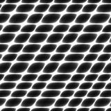 Schatten des grauen Zellgewebes, Filetarbeit, Bienenwabe, abstrakter fechtender silberner Schwarzweiss-Hintergrund Stockfotografie