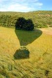 Schatten des Heißluftballons Lizenzfreie Stockfotografie