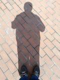 Schatten des Mannes Lizenzfreie Stockfotografie