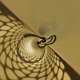 Schatten des Netzes stockbild