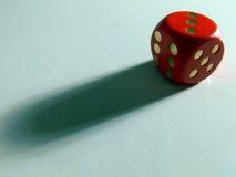 Schatten des Spiels Stockfotografie