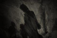 Schatten einer Familie stockfotografie