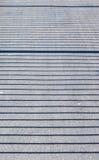 Schatten eines Geländers Stockfoto