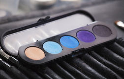 Schatten für ein Make-up Lizenzfreie Stockfotografie