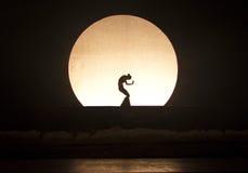Schatten-Tanz Stockbild