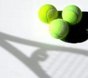 Schatten-Tennis Stockbilder