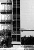Schatten- und Lichtnotausgang Lizenzfreie Stockfotos