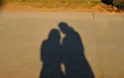 Schatten von couble Lizenzfreie Stockfotos