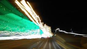 Schatten von Lichtern Stockfotografie