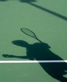 Schatten von Netman Stockfoto