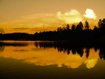 Schatten von Orange, schwarz, weiß Stockfotografie