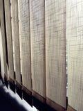 Schatten von Vorhängen Lizenzfreie Stockbilder