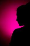 Schattenbild Stockbild