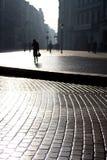 Schattenbild der Frauen Stockfoto