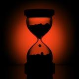 Schattenbild der Zeit Stockfotos