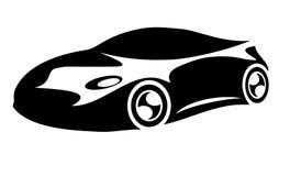 Schattenbild des Autos vektor abbildung