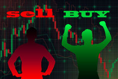 Schattenbild des Geschäftsmannes Lizenzfreie Stockfotografie