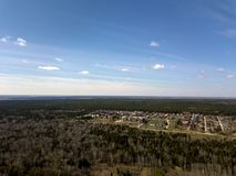 Schattenbild des kauernden Geschäftsmannes Wald in der Nowosibirsk-Stadt, Sibirien lizenzfreie stockbilder