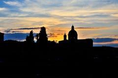 Schattenbild einer Schönheit: Florenz Lizenzfreies Stockfoto