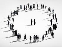 Schattenbild-Leute und Geschäfts-Vereinbarungs-Konzepte vektor abbildung