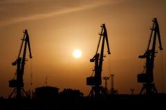 Schattenbild von Baku Lizenzfreie Stockfotografie