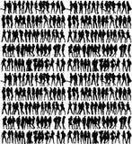 Schattenbilder Lizenzfreie Stockfotografie