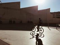Schattenbilder Stockfoto