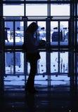 Schattenbilder Stockbild