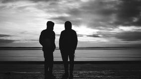 Schattenbilder Stockfotos